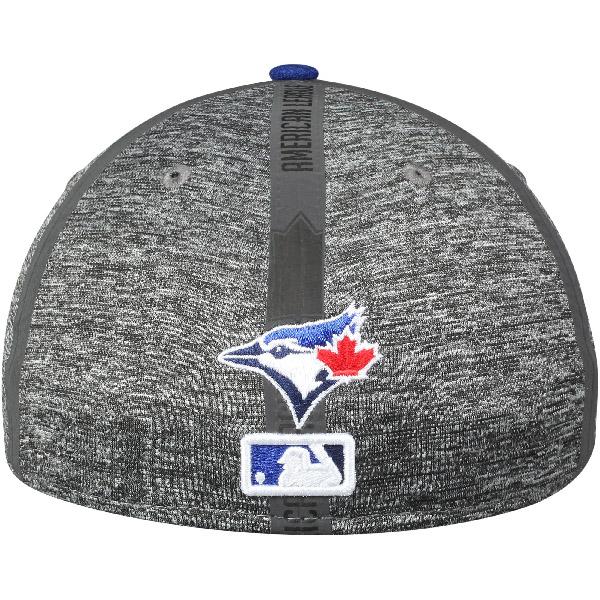 Order MLB Blue Jays 2017 clubhouse 39THIRTY flextime cap new gills /New Era