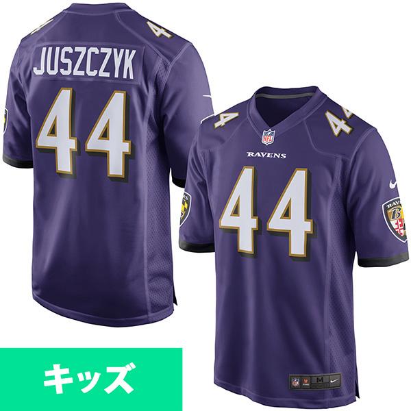 お取り寄せ NFL レイブンズ カイル・ジャスズチャイク キッズ ゲーム ユニフォーム ナイキ/Nike パープル