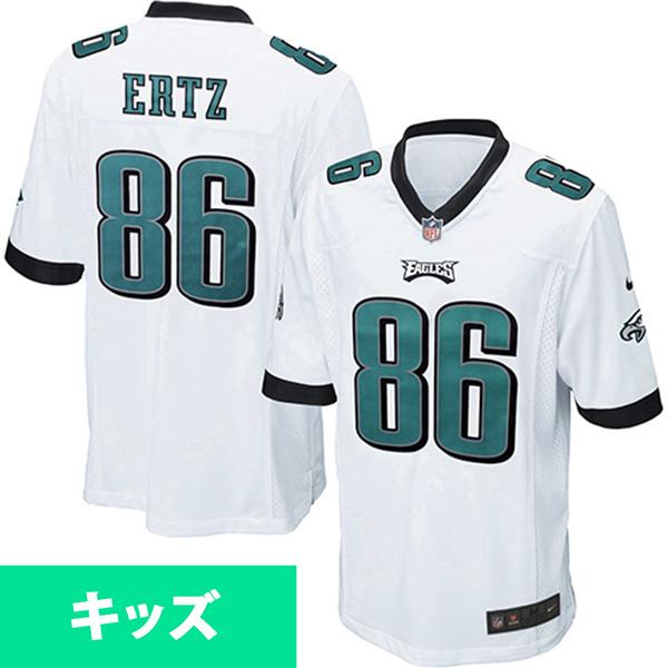 お取り寄せ NFL イーグルス ザック・アーツ キッズ ゲーム ユニフォーム ナイキ/Nike ホワイト