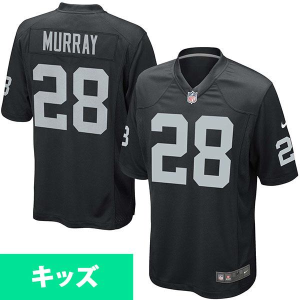 お取り寄せ NFL レイダース ラタビアス・マレー キッズ ゲーム ユニフォーム ナイキ/Nike ブラック