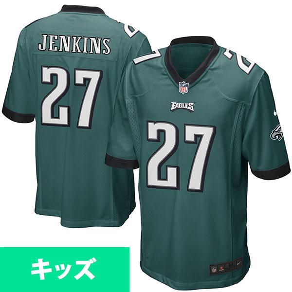 お取り寄せ NFL イーグルス マルコム・ジェンキンス キッズ ゲーム ユニフォーム ナイキ/Nike グリーン