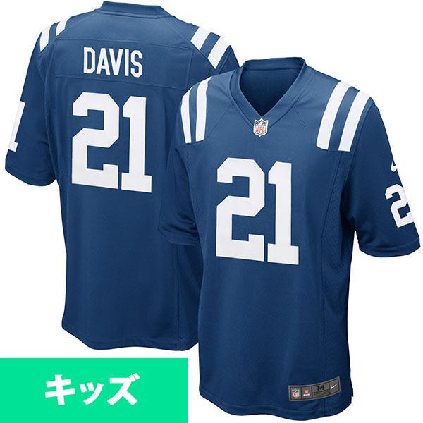 お取り寄せ NFL コルツ ボンティー・デイビス キッズ ゲーム ユニフォーム ナイキ/Nike ロイヤルブルー