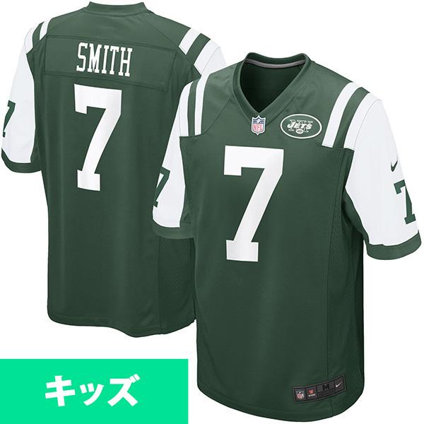 お取り寄せ NFL ジェッツ ジーノ・スミス キッズ ゲーム ユニフォーム ナイキ/Nike グリーン