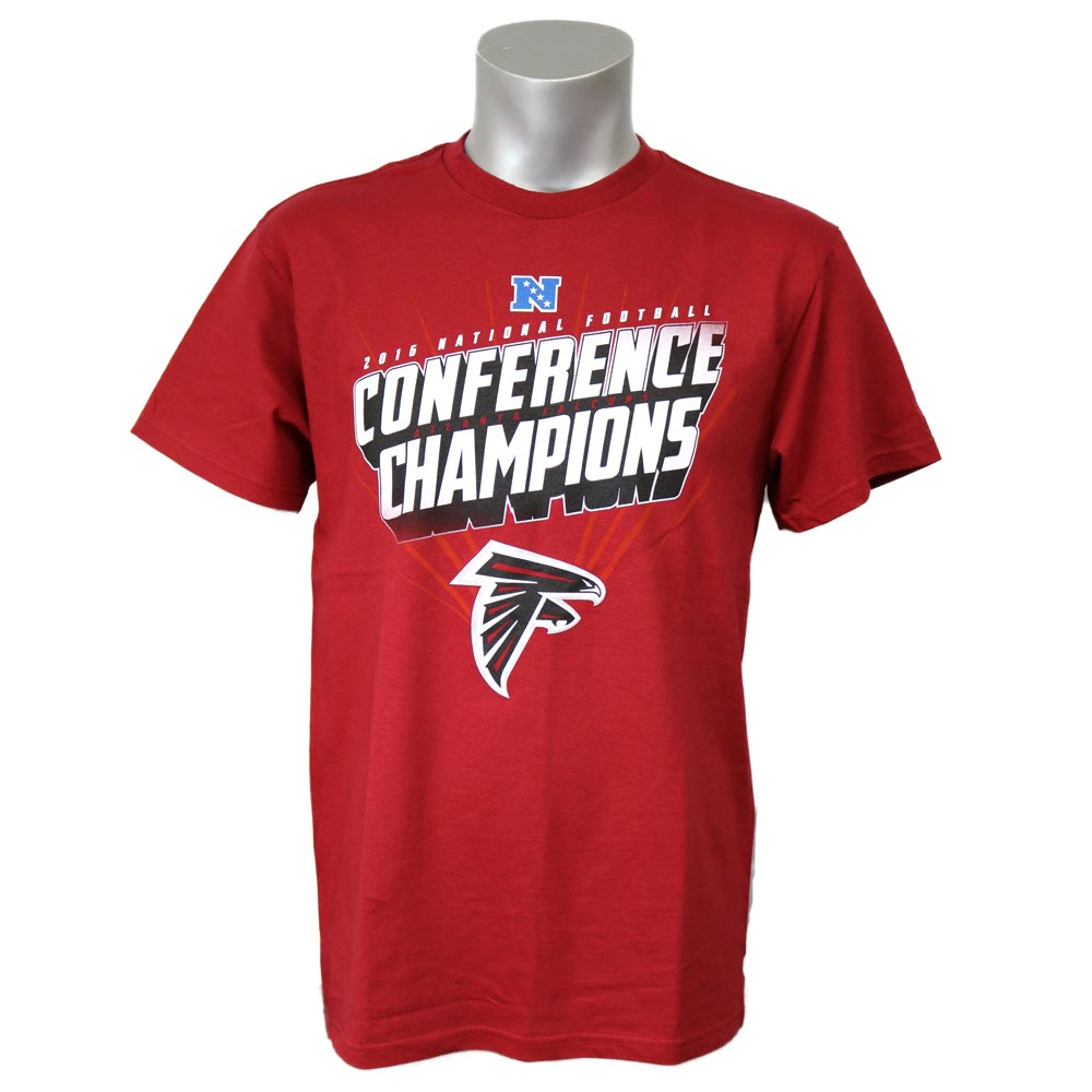 c9896af24 NFL Falcons 51st Super Bowl ad van thing Win T-shirt majestic  Majestic red