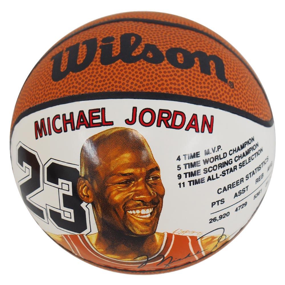 NBA ブルズ マイケル・ジョーダン ミニ バスケットボール ウィルソン/Wilson