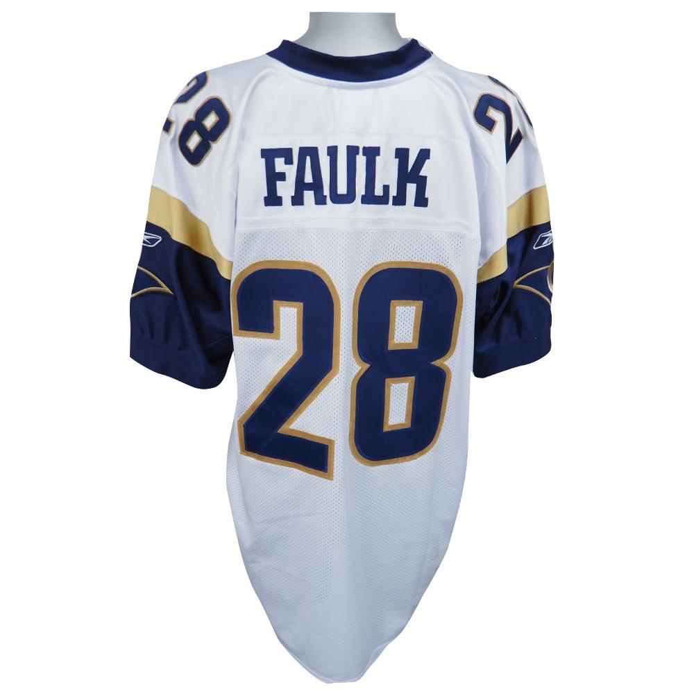 NFL ラムズ マーシャル・フォーク オーセンティック ユニフォーム リーボック/Reebok ホワイト