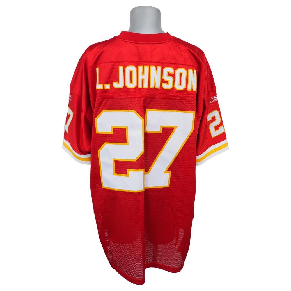 NFL チーフス ラリー・ジョンソン オーセンティック ユニフォーム リーボック/Reebok レッド
