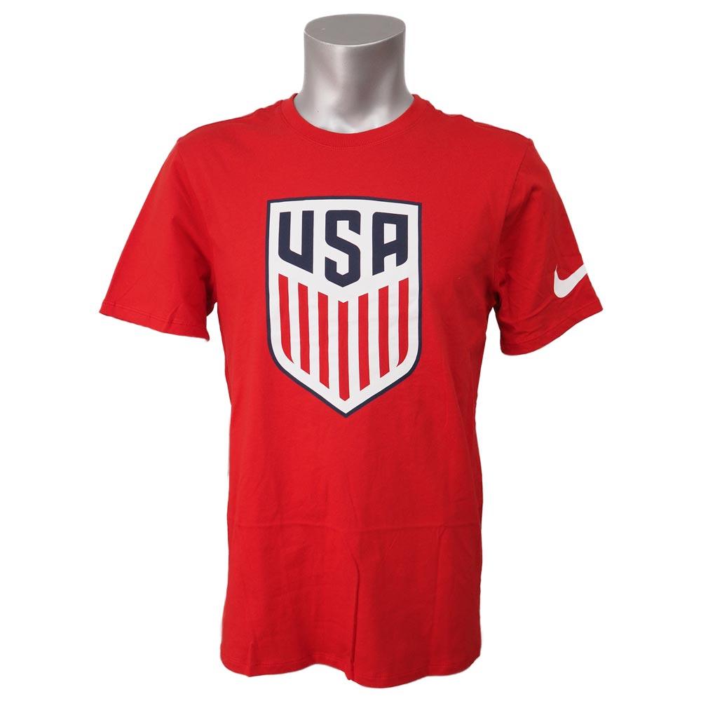 サッカー/SOCCER USA代表 クレスト Tシャツ ナイキ/Nike レッド 742173-657【1910価格変更】