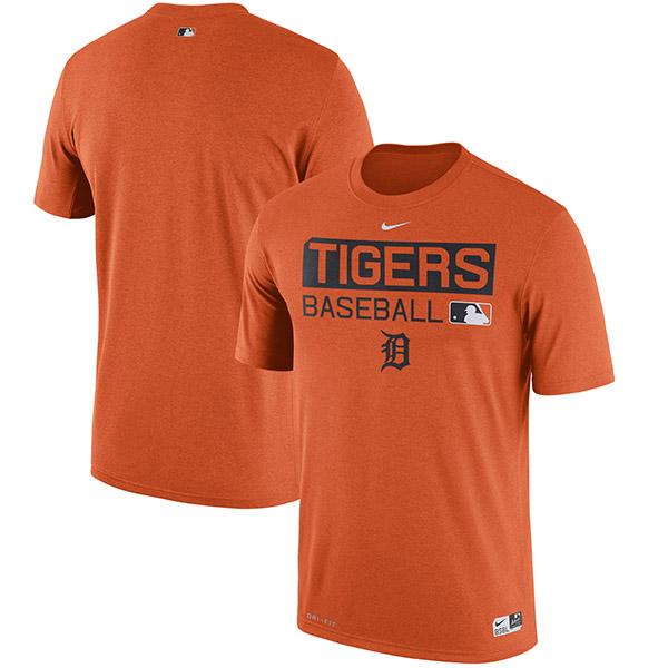 お取り寄せ MLB タイガース オーセンティック パフォーマンス Tシャツ ナイキ/Nike オレンジ