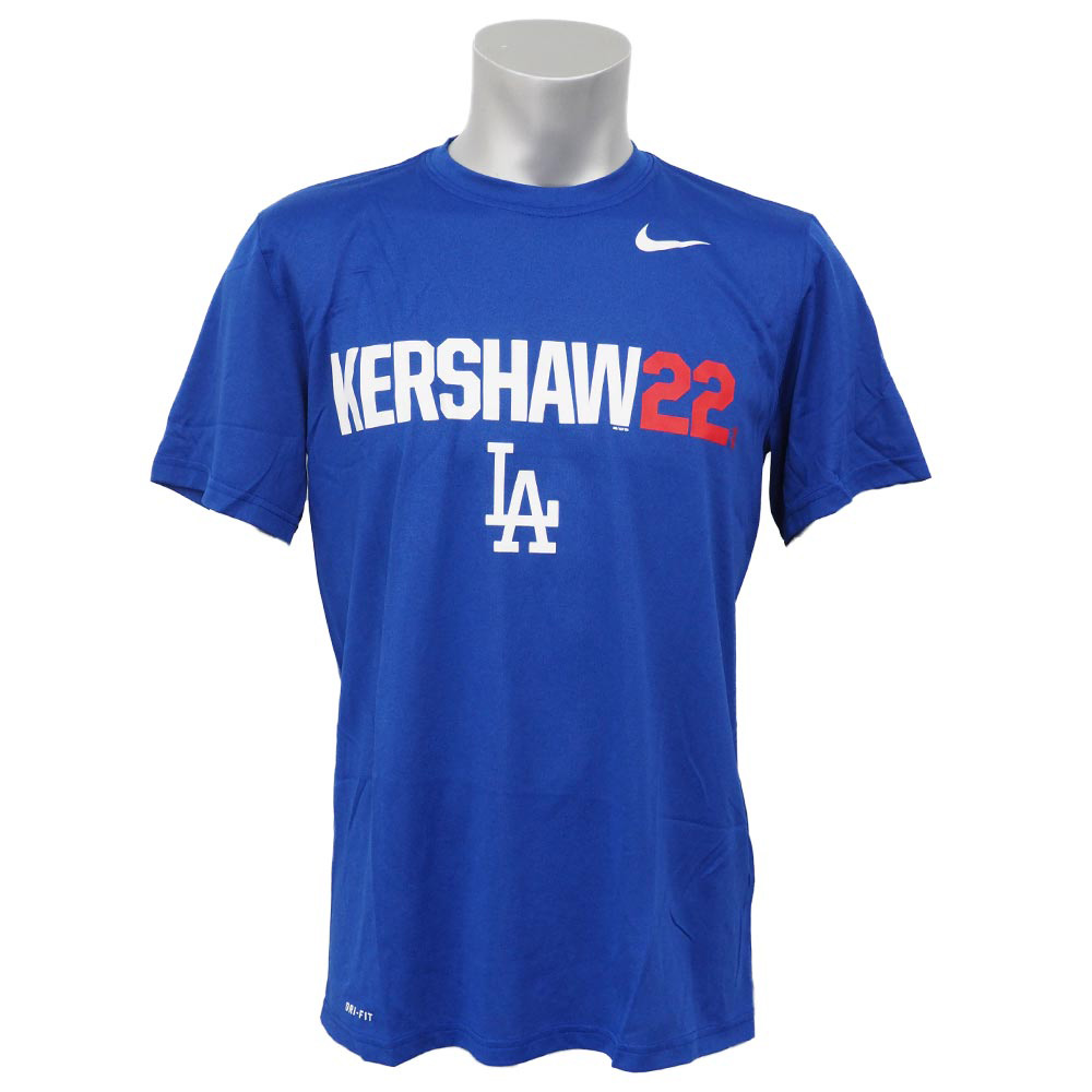MLB ドジャース クレイトン・カーショー DRI-FIT LGD ニックネーム Tシャツ ナイキ/Nike ロイヤル【1910価格変更】【1112】