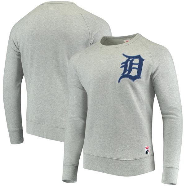 お取り寄せ MLB タイガース プルオーバー スウェットシャツ リーバイス/Levis ヘザーグレー