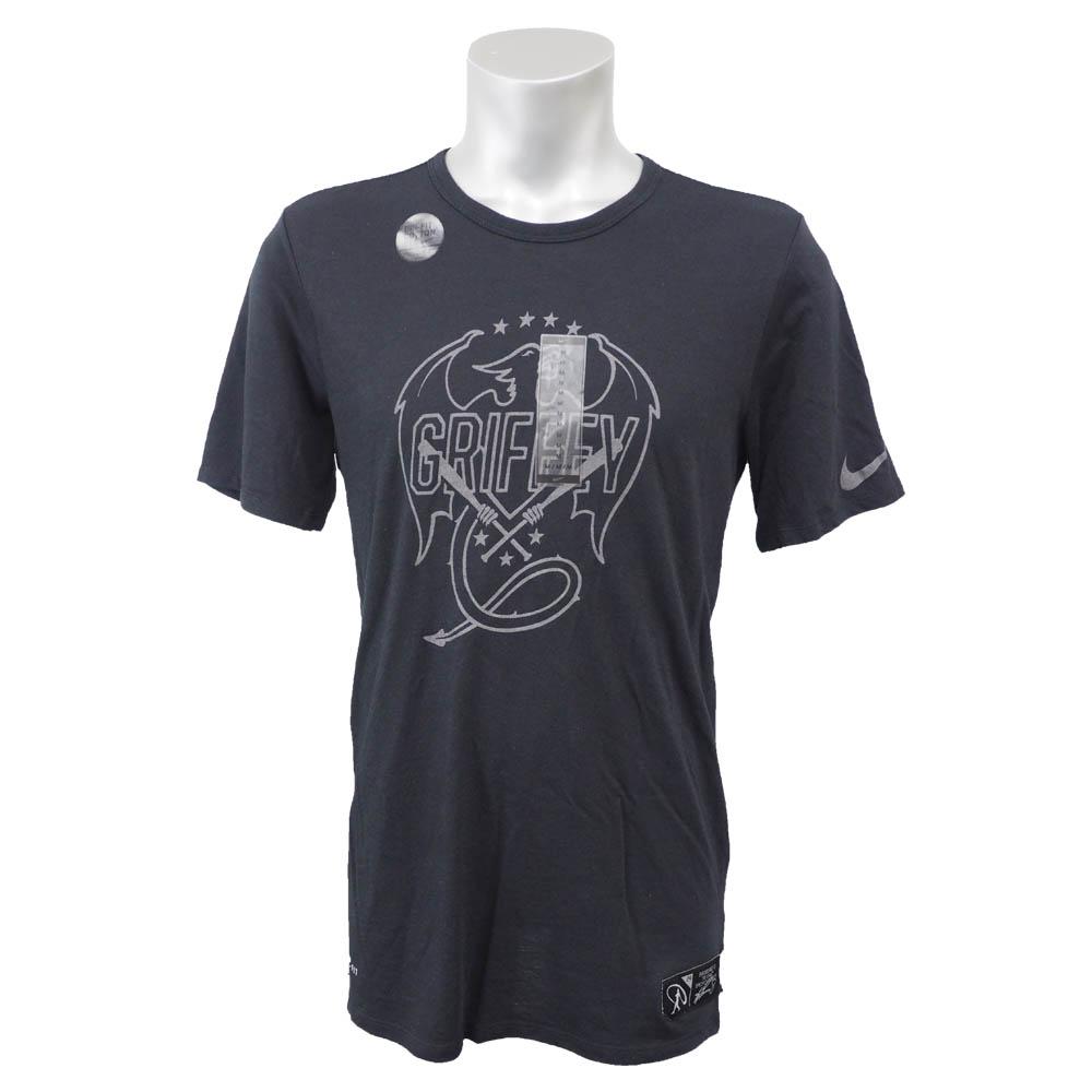 ケン・グリフィーJR. シルバー スイングマン Dri-Fit Tシャツ ナイキ/Nike ブラック 811468-010 レアアイテム【トレーニング特集】