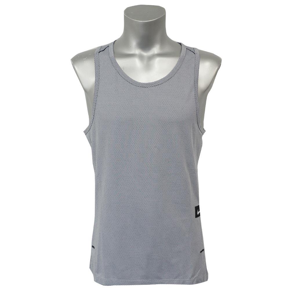ハイパーエリート SL ニット タンクトップ ナイキ/Nike ウルフグレー/ブラック/ブラック 848543-012【NIKEJP】
