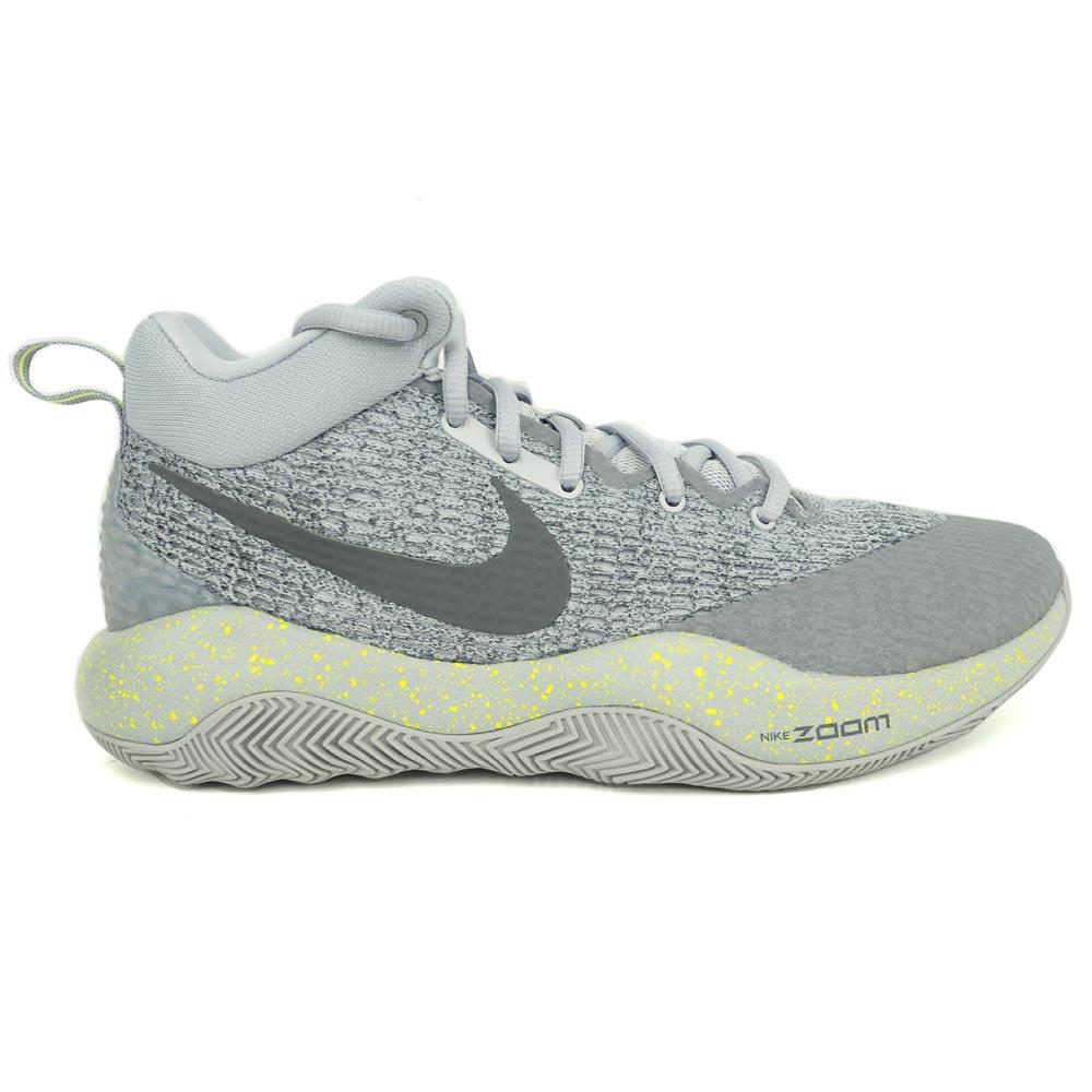 ズームレブ EP ZOOM REV EP ナイキ/Nike ウルフグレー/ダークグレー/クールグレー/ボルト 852423-007 バッシュ