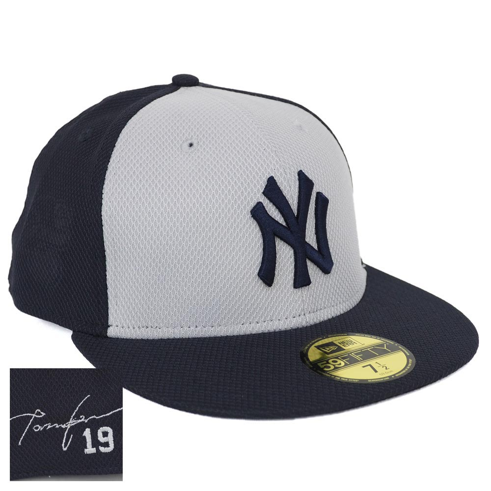 ヤンキース キャップ ニューエラ NEW ERA MLB 田中将大 オーセンティック ダイヤモンドエラ BP シグネチャー ロード
