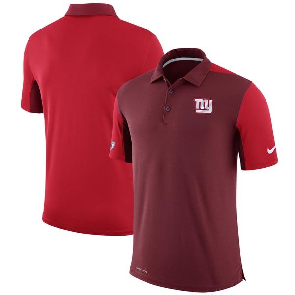 お取り寄せ NFL ジャイアンツ チーム イシュー ロゴ パフォーマンス ポロシャツ ナイキ/Nike レッド