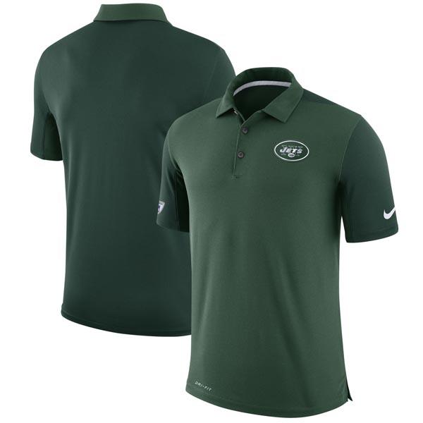 お取り寄せ NFL ジェッツ NFL チーム イシュー ジェッツ ロゴ パフォーマンス ポロシャツ ナイキ イシュー/Nike グリーン, 足袋屋さん:163040ff --- idelivr.ai