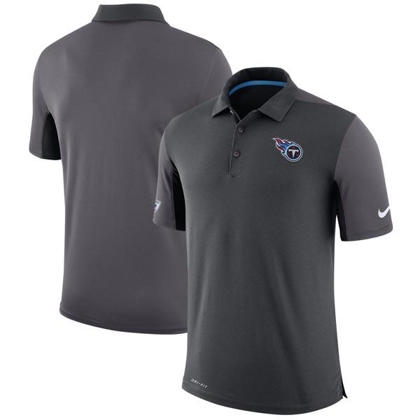 高質 お取り寄せ NFL ロゴ イシュー タイタンズ チーム イシュー ロゴ NFL パフォーマンス ポロシャツ ナイキ/Nike チャコール, 守山区:656f583a --- business.personalco5.dominiotemporario.com