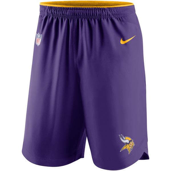 お取り寄せ NFL バイキングス ヴェイパー パフォーマンス ショーツ ナイキ/Nike パープル