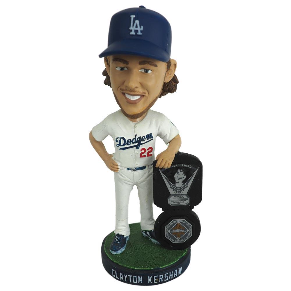 MLB ドジャース クレイトン・カーショー 2013 サイ・ヤング賞受賞記念 ボブルヘッド SGA レアアイテム
