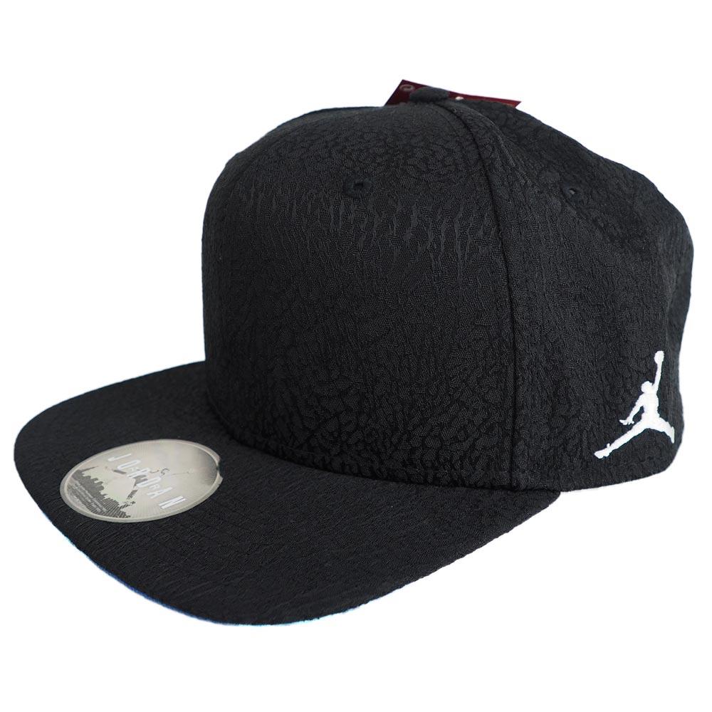 596402a464f407 3 Nike Jordan  NIKE JORDAN nostalgic toe roux OG snapback cap black 802