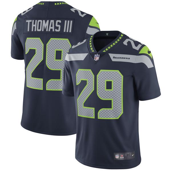 お取り寄せ NFL シーホークス アール・トーマス ヴェイパー アンタッチャブル リミテッド ユニフォーム ナイキ/Nike カレッジネイビー