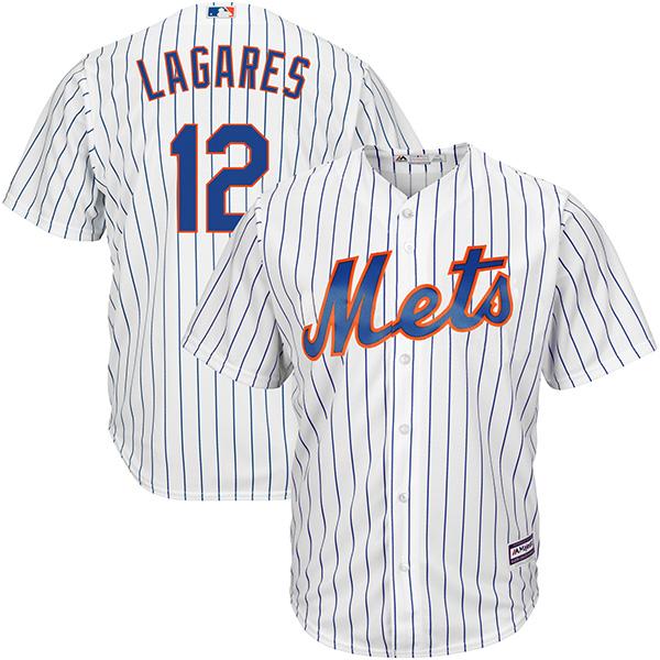 お取り寄せ MLB メッツ フアン・ラガーレス クールベース レプリカ ユニフォーム マジェスティック/Majestic ホワイト