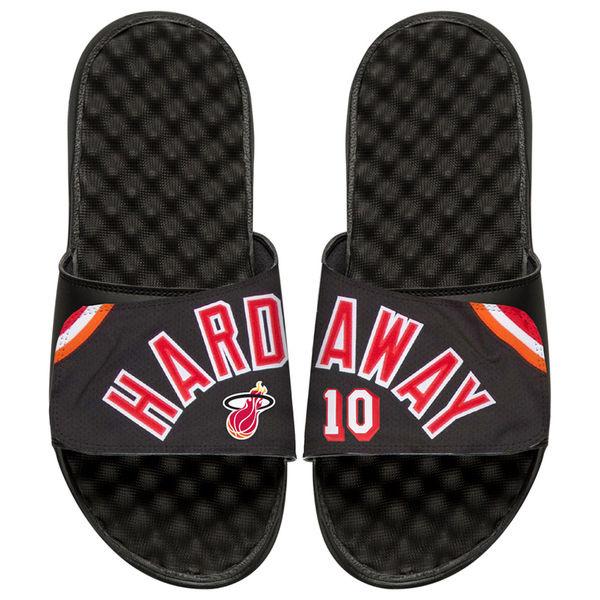 お取り寄せ NBA ヒート ティム・ハーダウェイ レトロ ジャージ スライド サンダル アイスライド/ i-slide