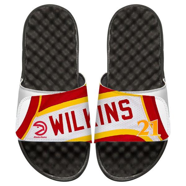 お取り寄せ NBA ホークス ドミニク・ウィルキンス レトロ ジャージ スライド サンダル アイスライド/ i-slide