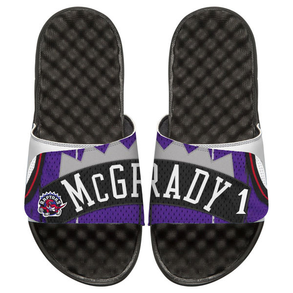 お取り寄せ NBA ラプターズ トレイシー・マグレディ レトロ ジャージ スライド サンダル アイスライド/ i-slide