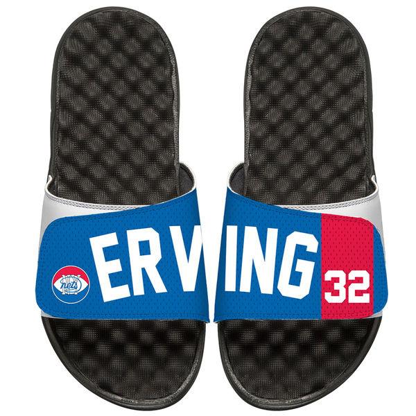 お取り寄せ NBA ネッツ ジュリアス・アービング レトロ ジャージ スライド サンダル アイスライド/ i-slide