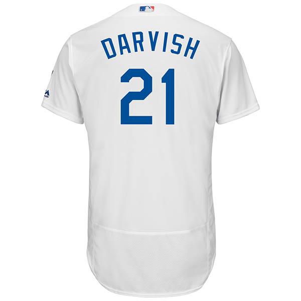 MLB ドジャース ダルビッシュ有 フレックスベース オーセンティック プレイヤー ユニフォーム マジェスティック/Majestic ホーム