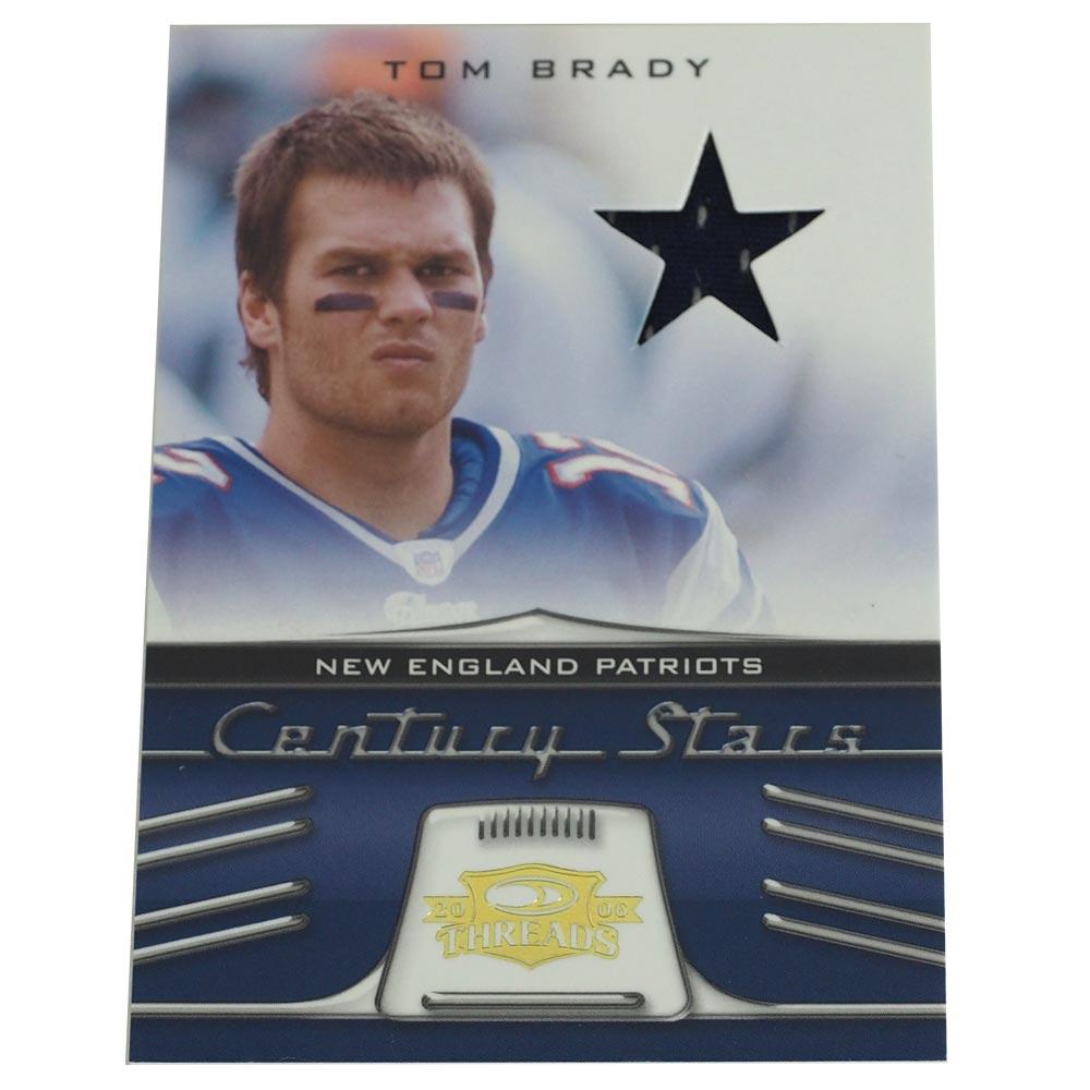 NFL ペイトリオッツ トム・ブレイディ 2006 センチュリー スターズ ユニフォーム カード 046/250 ドンラス/DonRuss