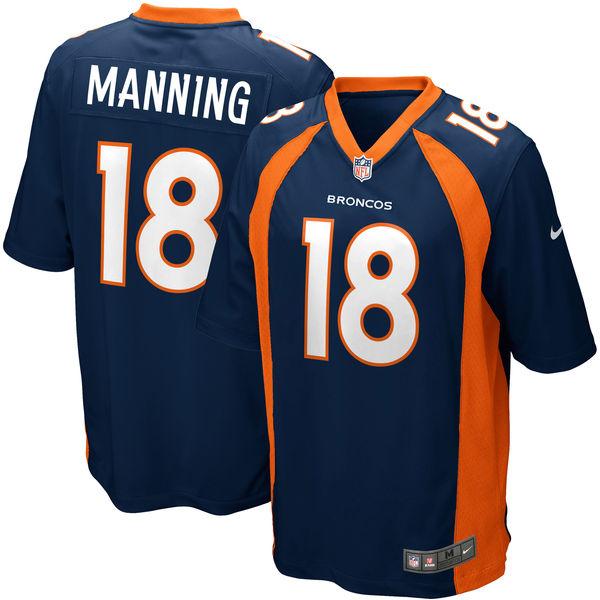 NFL ブロンコス ペイトン・マニング ゲーム ユニフォーム ナイキ/Nike ネイビー 479415-421【セール】