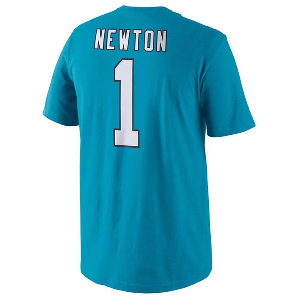 <title>あす楽対応 普段着としてさらっと着られる シンプルデザインのネーム ナンバーTシャツ NFL パンサーズ キャム ニュートン プレーヤー プライド ネーム ナンバー Tシャツ ナイキ Nike パンサーブルー 709836-4551710 180921変更 本物◆</title>