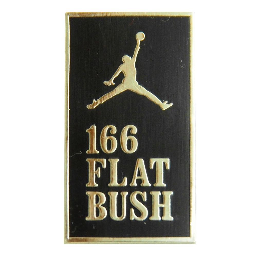 ジョーダン/JORDAN 30th アニバーサリー ピンバッジ 166 FLAT BUSH レアアイテム