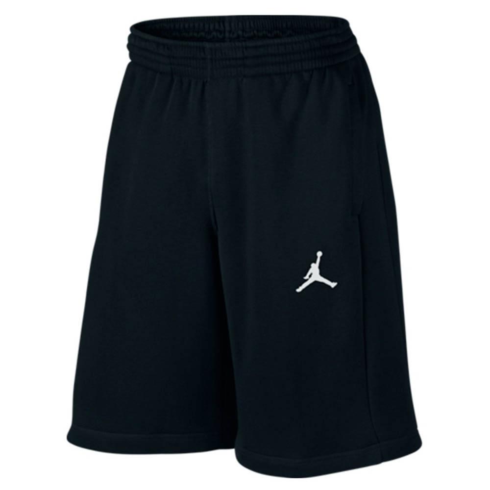 ナイキジョーダン/Nike JORDAN フライト フリース ショーツ BLACK/WHITE