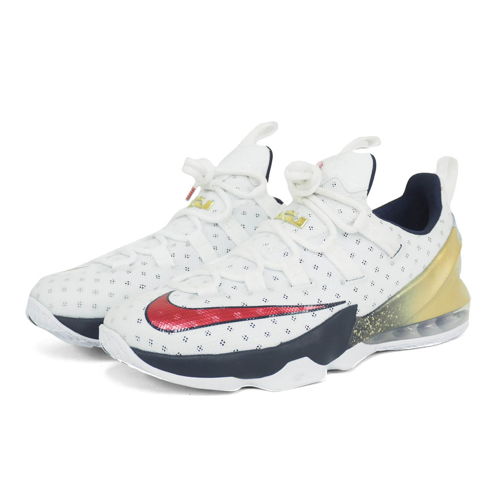 release date 769b4 53918 Nike Revlon /NIKE LEBRON Revlon James LEBRON XIII LOW USA white 831,925-164