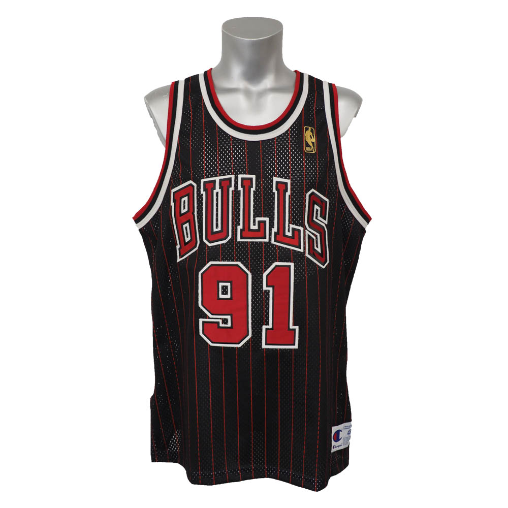 NBA ブルズ デニス・ロッドマン 50周年記念 オーセンティック ユニフォーム チャンピオン/Champion オルタネート レアアイテム