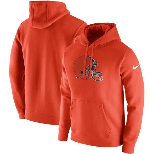 NFL ブラウンズ クラブ フリース プルオーバー パーカー ナイキ/Nike オレンジ
