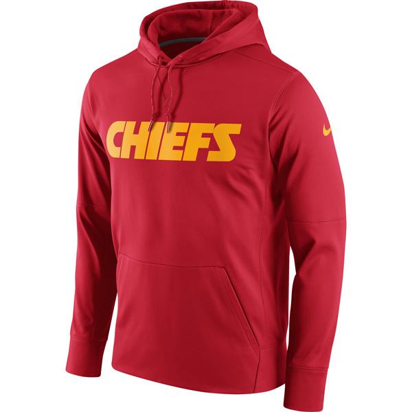 お取り寄せ NFL チーフス サーキット ワードマーク エッセンシャル パフォーマンス パーカー ナイキ/Nike レッド