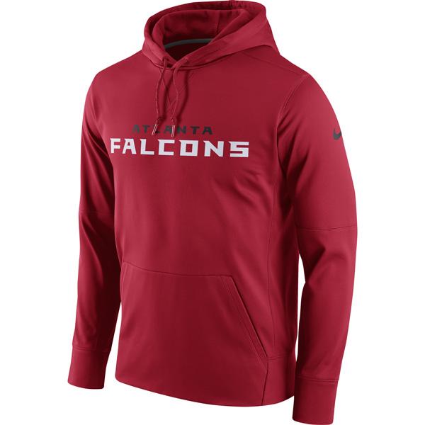 NFL ファルコンズ サーキット ワードマーク エッセンシャル パフォーマンス パーカー ナイキ/Nike レッド