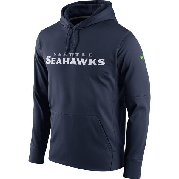 NFL シーホークス サーキット ワードマーク エッセンシャル パフォーマンス パーカー ナイキ/Nike ネイビー