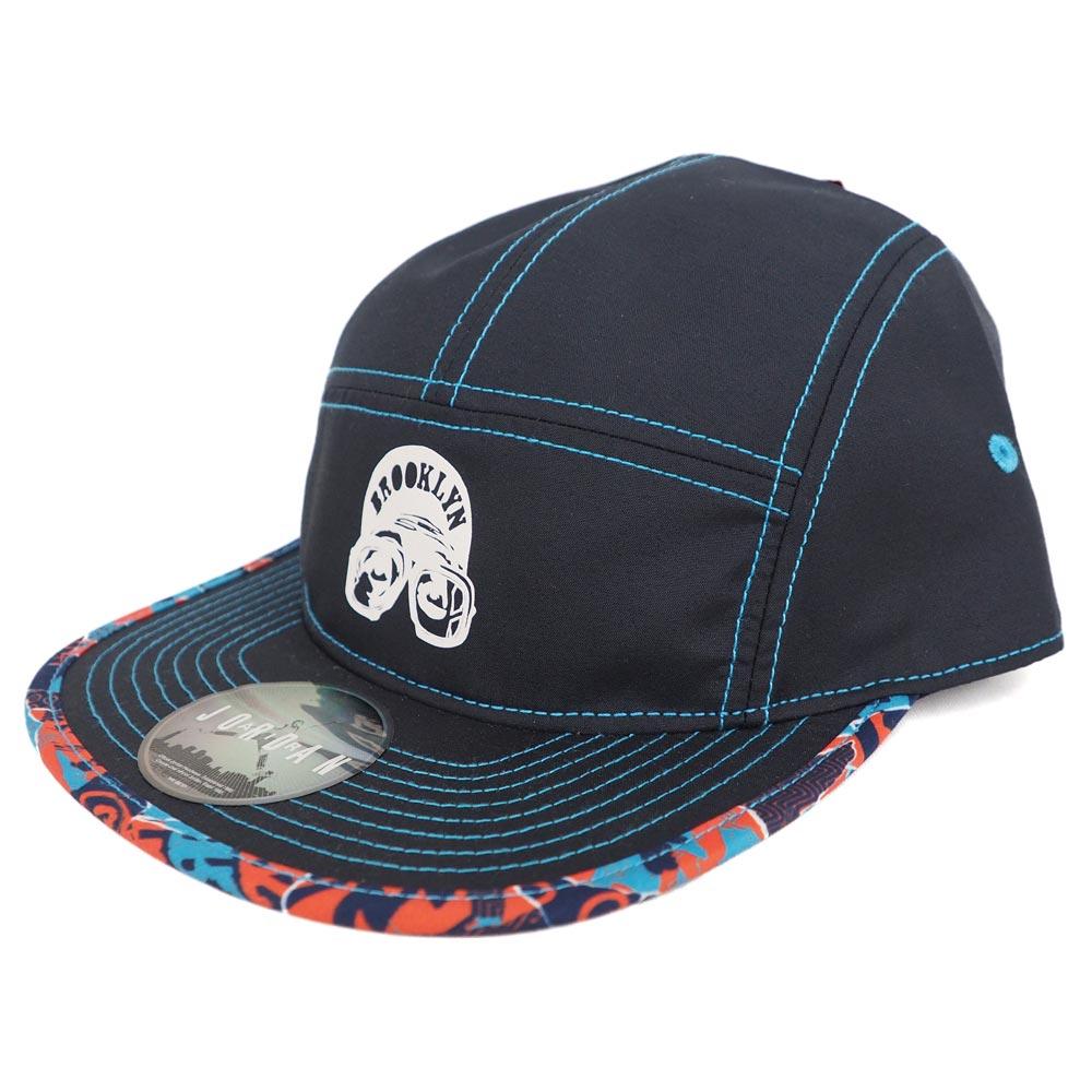 889b63c0d45512 Nike Jordan  Nike JORDAN Mars pattern adjuster bulldog 5 panel cap   hat  black   white