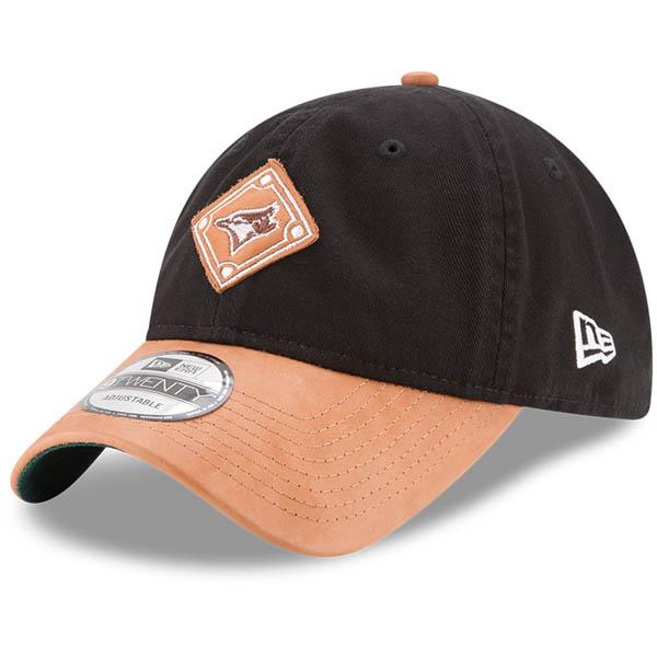 MLB ブルージェイズ Wilson コラボレーション 9TWENTY アジャスタブル キャップ/帽子 ニューエラ/New Era ブラック/ナチュラル