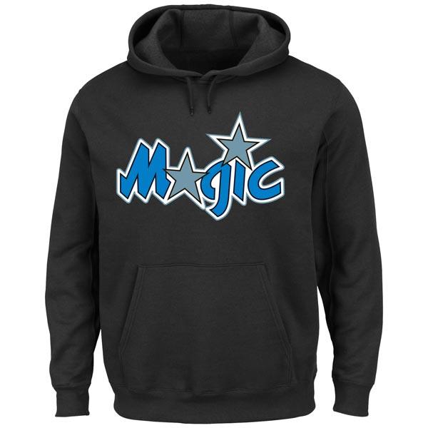 お取り寄せ NBA マジック ハードウッドクラシック テック パッチ パーカー マジェスティック/Majestic ブラック