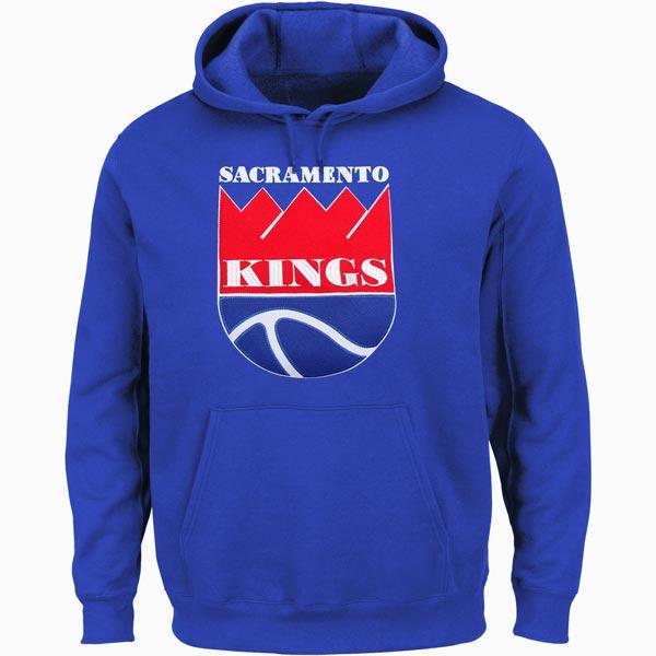 お取り寄せ NBA キングス ハードウッドクラシック テック パッチ パーカー マジェスティック/Majestic ロイヤル