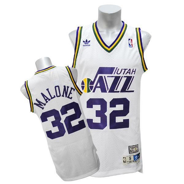 NBA ジャズ カール・マローン ソウル スウィングマン ユニフォーム アディダス/Adidas ホーム
