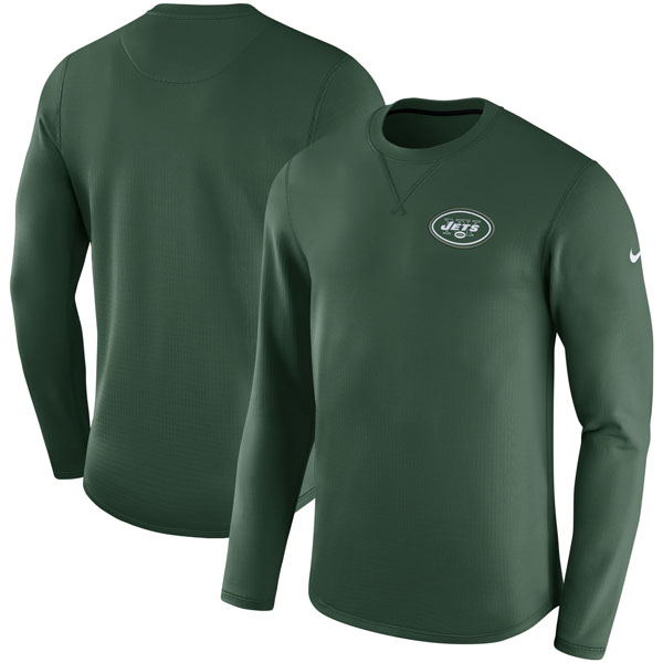 NFL ジェッツ サイドライン モダン ロングスリーブ スウェット ナイキ/Nike グリーン