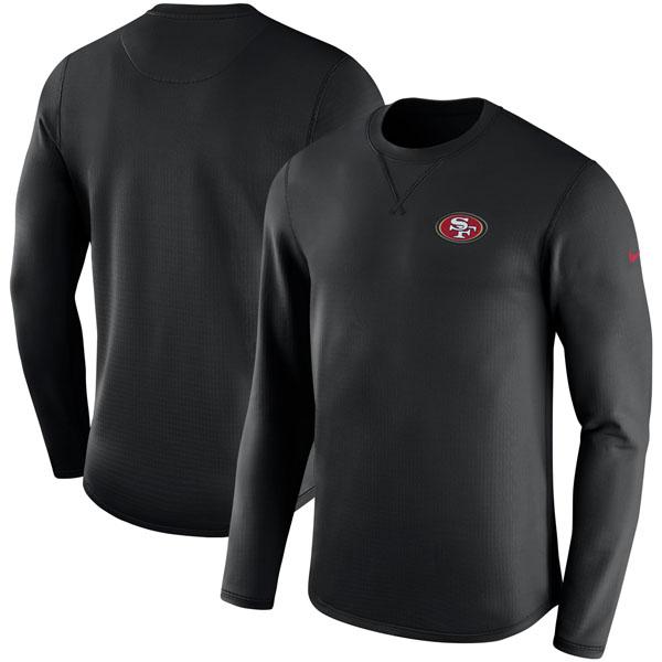 NFL 49ers サイドライン モダン ロングスリーブ スウェット ナイキ/Nike ブラック